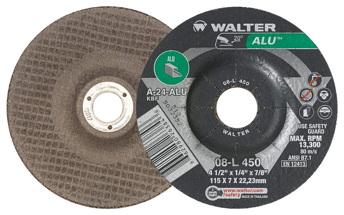 Walter 08L902 Aluminum Grinding and Cutting Pack Don't miss the campaign - security of 25 Wheel
