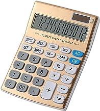 $41 » HAOPINZHI Multi- Function 12 Digit Desk Calculator, Large Display Solar Electronic Desktop Calculator for School/Home/Offi...