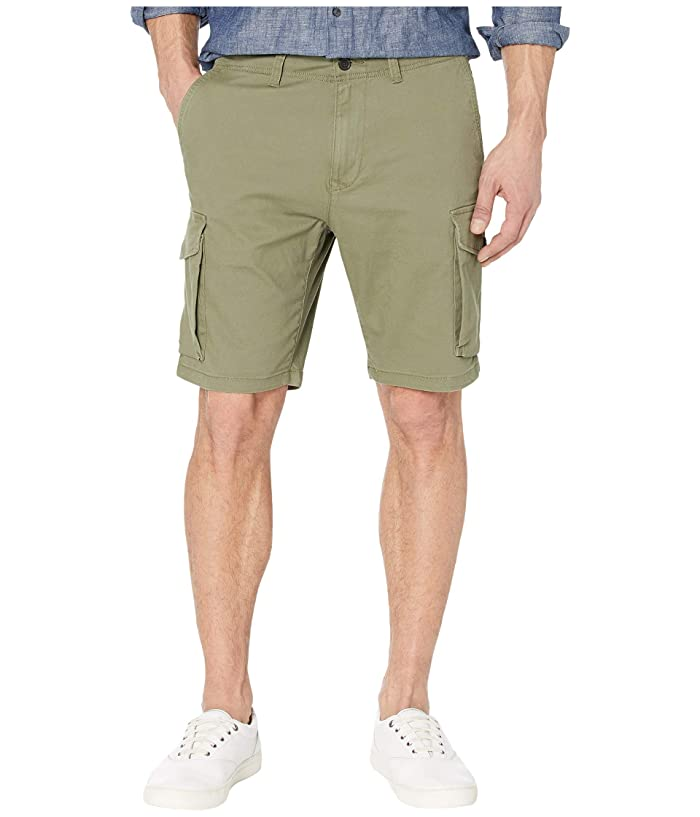 Lucky Brand  Cargo Shorts (Four Leaf Clover) Mens Shorts
