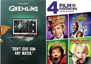Family Kid Series Movie Gremlins Stephen Spielberg DVD + Goonies + Space Jam Looney Tunes + Dennis the Menace + Willy Wonka Chocolate Factory Musical