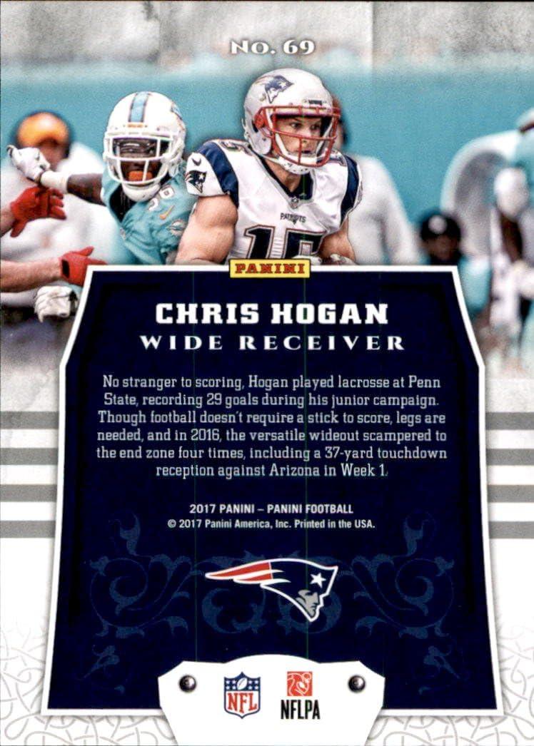 2017 Panini #69 Chris Hogan New England Patriots