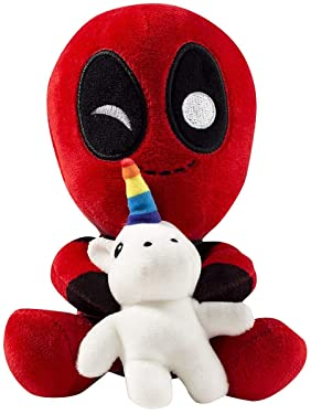 Marvel Deadpool Riding a Unicorn Plush