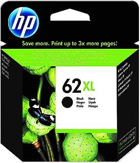 HP 62XL C2P05AE, Negro, Cartucho de Tinta de Alta Capacidad Original, compatible con impresoras de inyección de tinta HP E...