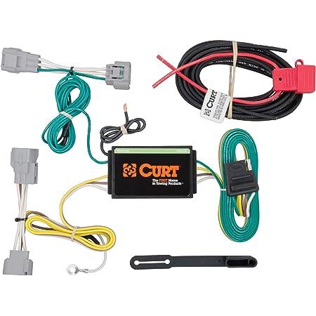 Amazon.com: CURT 56208 Vehicle-Side Custom 4-Pin Trailer Wiring Harness for  Select Jeep Cherokee: Automotive | 99 Jeep Cherokee Trailer Wiring |  | Amazon.com