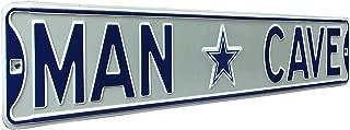 Fremont Die NFL Football MAN CAVE, Heavy Duty, Steel Street Sign
