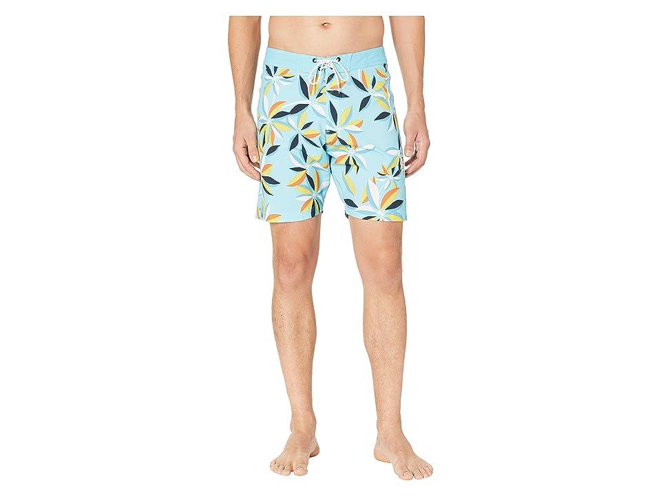 VISSLA Montra Boardshorts 18.5 (Light Blue) Men