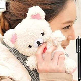 Emilys fashion style New Cute 3D Lovely Teddy Bear Doll Toy Cool Plush Fitted Back case Cover for iphone 6 Plus/6S Plus 5.5