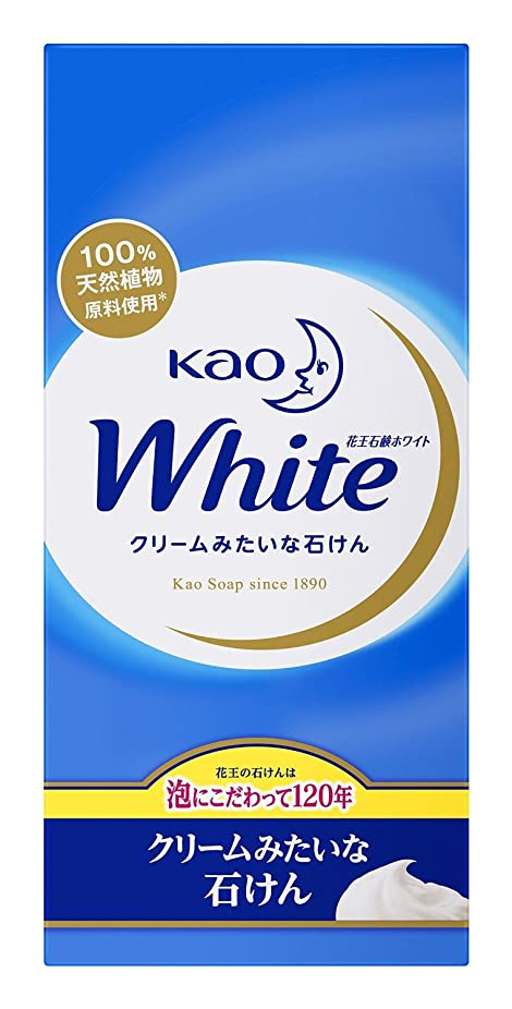十分な買い手閉じ込める【花王】花王ホワイト レギュラーサイズ (85g×6個) ×20個セット