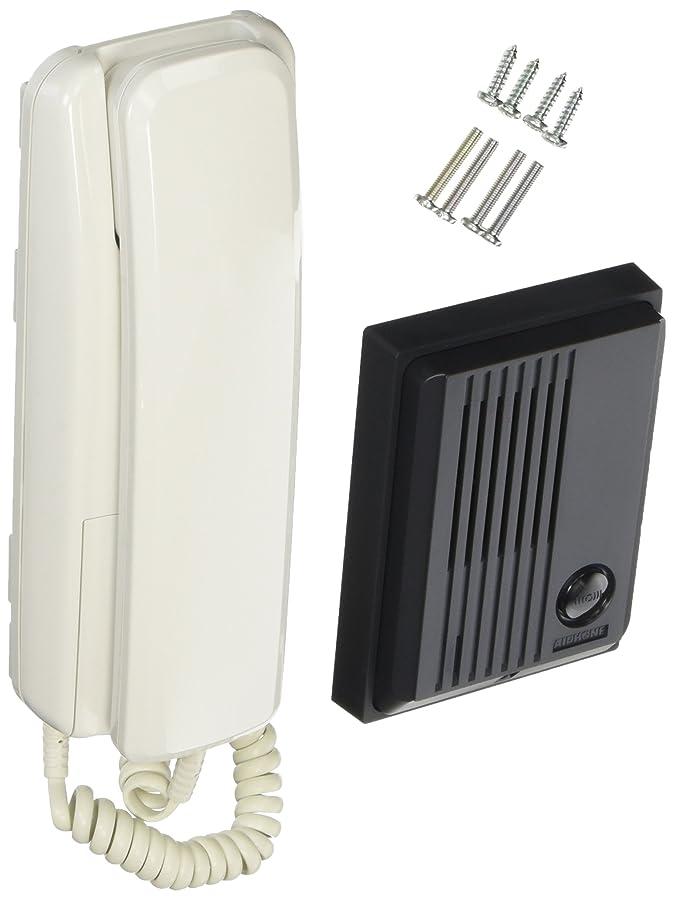 メンタル慎重空白アイホン 乾電池式インターホン TCS-MHP