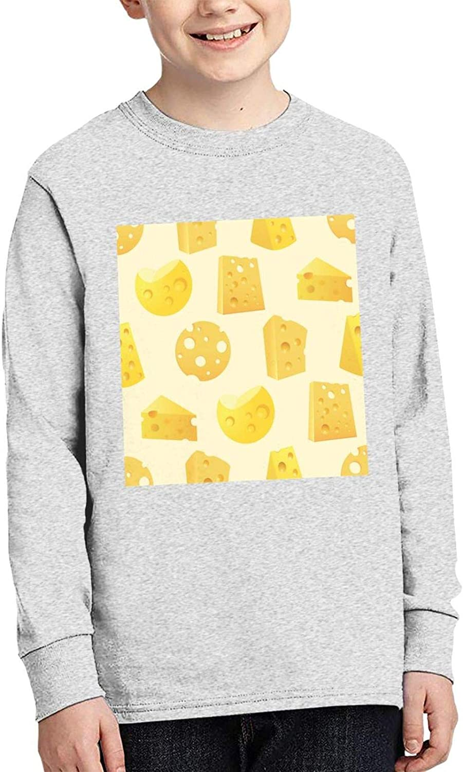 Tasty Slices of Cheese Max 56% OFF Sweater and Limited time for free shipping Fashion Children' Comfortable