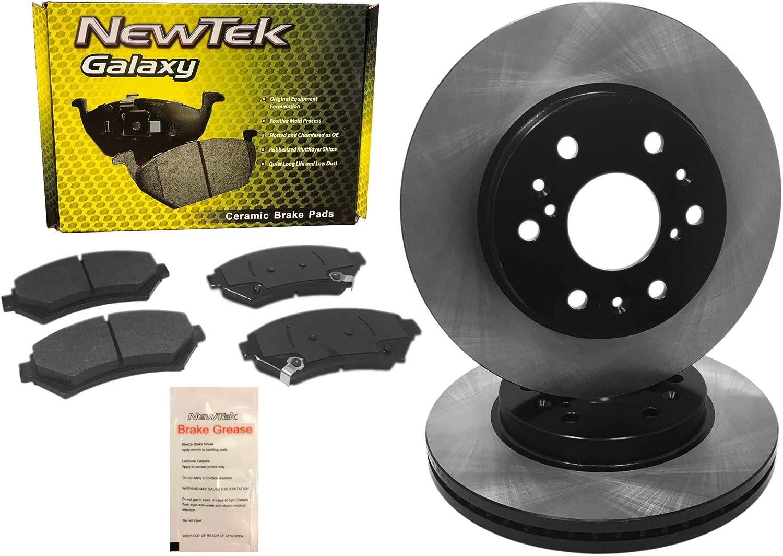 BK1111-5 Front Premium E-Coat Rotors and Pads supreme Ceramic Max 56% OFF