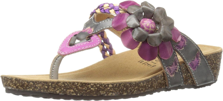 L'Artiste by Spring Step Womens Chunali Flat Sandal