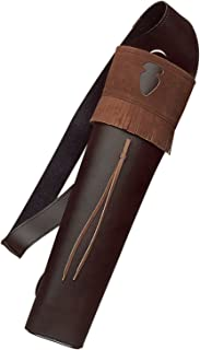 Neet Archery Traditions Back Quiver Color Brown Leather