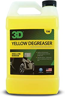3D Yellow Degreaser - Wheel & Tire Degreaser & Cleaner to Remove Grease & Brake Dust 1 Gallon