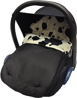 Animal Print coche asiento saco/Cosy Toes Compatible con Hauck vaca