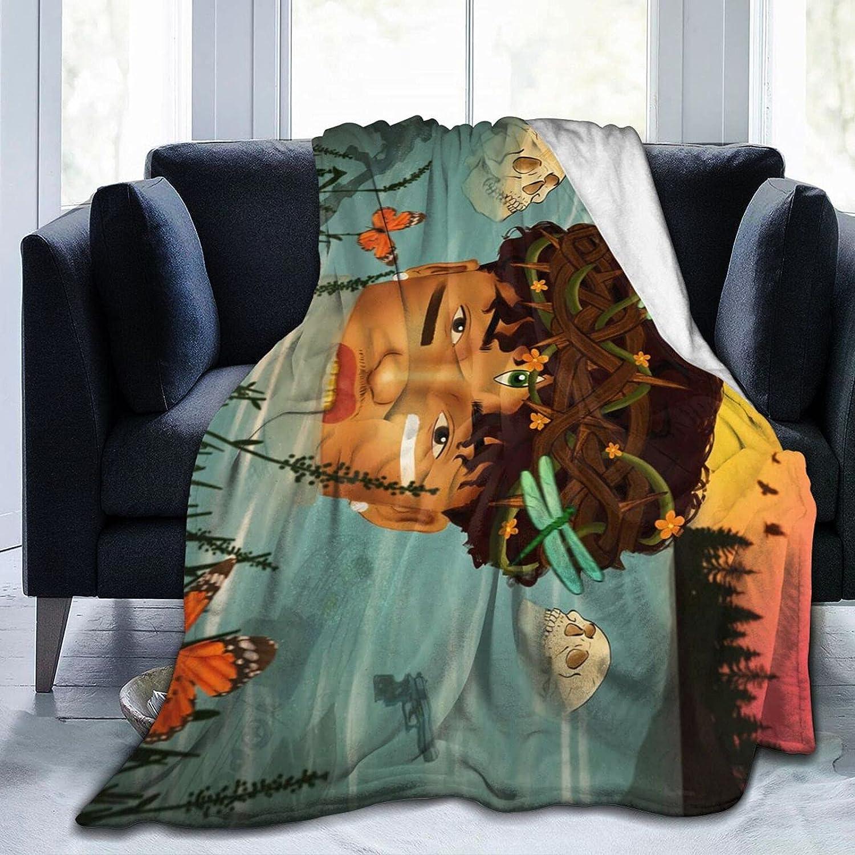 Au-gust Al-sina Popular products Fleece Blanket Soldering Lightweight and Soft Comfor Super