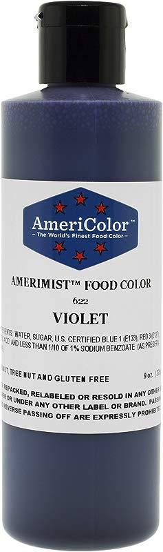 AmeriColor AmeriMist Violet Airbrush Food Color 9 Oz