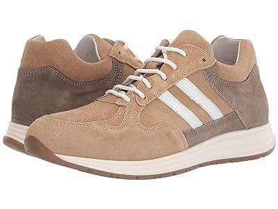 eleventy Mesh/Suede Runner Sneaker (Sand) Men
