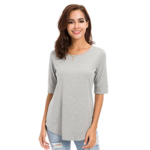 replicas wholesale outlet clear and distinctive Elbow Length Tops: Amazon.com