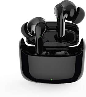 $20 » Wireless Earbud 5.0 Touch with Wireless Charging Box IPX5 Waterproof Stereo Wireless Bluetooth Earpiece for iOS or Android...