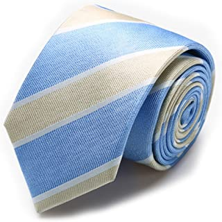 EVANHOME ネクタイ シルク 100% 全20柄 収納BOXセット ビジネス ファッション ネイビー 花柄 無地 通勤用 メンズ ネクタイ ストライプ ドット 小紋柄 ボルドー ネイビー グレー イエロー 大剣7cm幅