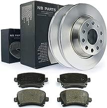 ATE Bremsen Bremsscheiben und Bremsbeläge VW Passat 3C5//3C5 Benzin//Diesel Hinten