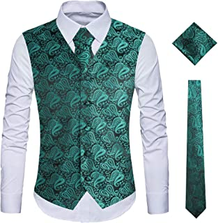 Best dark blue vest and tie Reviews
