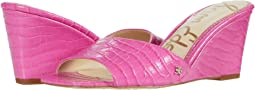 Magenta Kenya Large Croco Leather
