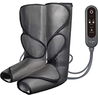 FIT KING Leg Air Massager for Foot and Calf Circulation Massage with Handheld Controller..