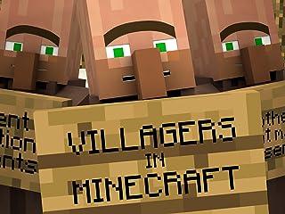 Villagers in Minecraft