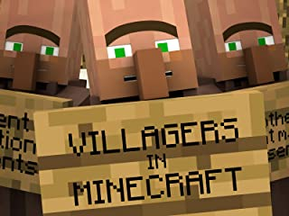 Clip: Villagers in Minecraft
