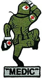 EagleEmblems PM3727 Patch-Army,Medic Dude (3.5'')