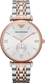 Emporio Armani Women's Quartz Stainless-Steel-Plated Watch, Color:Two Tone - AR1677