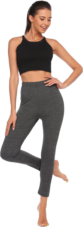 Women Elastic Waist Side Patchwork Slim Fit Casual Sports Leggings