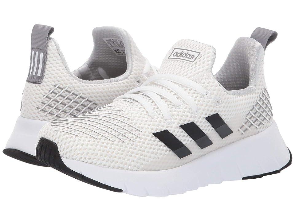 adidas Kids Asweego Run (Little Kid/Big Kid) (Footwear White/Core Black/Grey Three) Kid