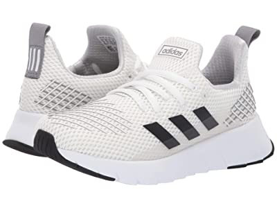 adidas Kids Asweego Run (Little Kid/Big Kid) (Footwear White/Core Black/Grey Three) Kid
