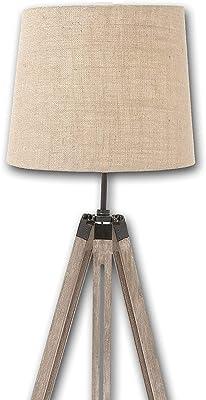 Amazon.com: Lámpara de pie Emma de trípode de ...
