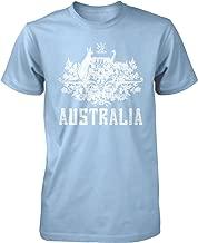 Hoodteez Australia Coat of Arms, New South Wales Men's T-Shirt