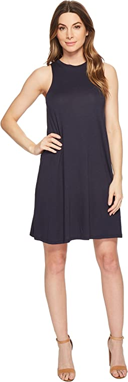 Cotton Modal Jersey A-Line Tank Dress