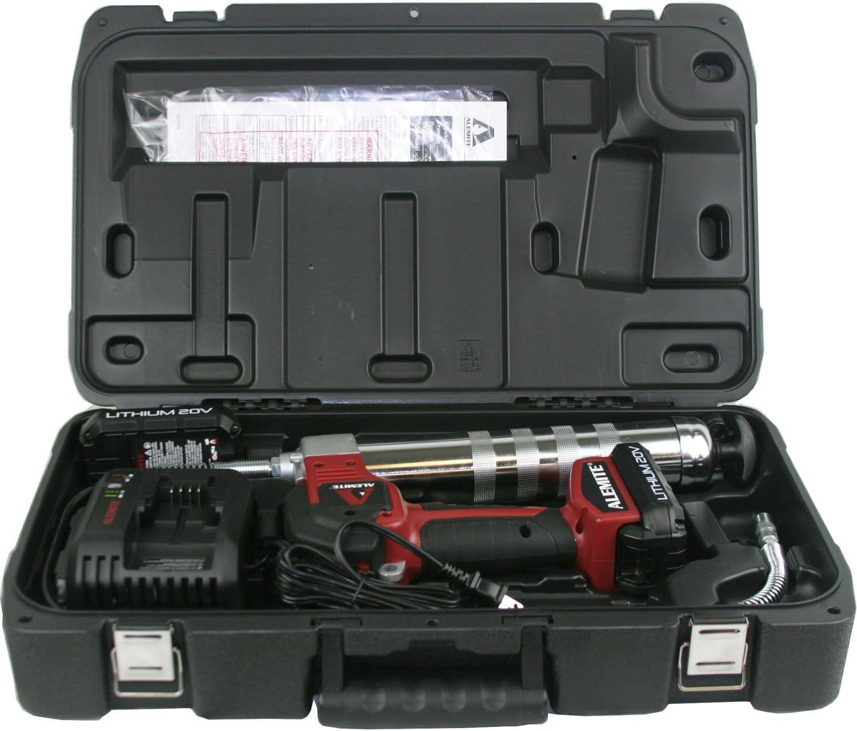 Alemite 596-B1 20V 2-Speed Cordless Grease Gun