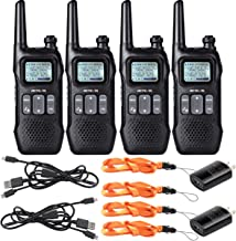 Retevis RT16 Walkie Talkies for Adults,Long Range Rechargeable Two Way Radio,Flashlight..