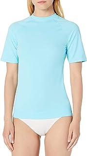 Amazon Essentials Women's Short Sleeve Rash Guard