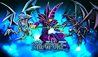 Dark Magician Blue eye's Red eye's Dragon TCG playmat, gamemat 24