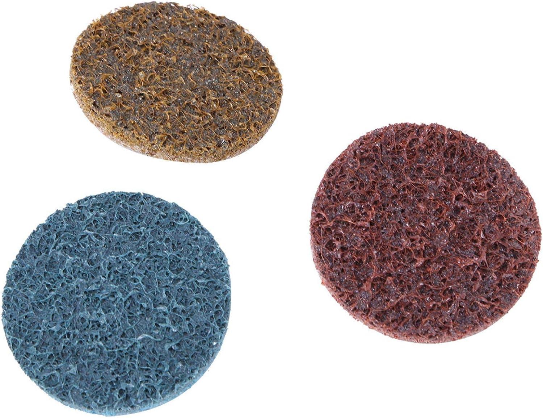 Disco en espiral, kit de disco de lijado resistente al desgaste, 36 piezas para pulido de superficies de soldadura de metales