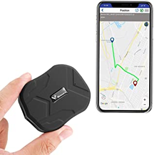 ZEERKEER Mini GPS Tracker for Vehicles Hidden Magnetic Mini GPS Locator Real-Time Anti-Theft Micro GPS Tracking Device for... photo