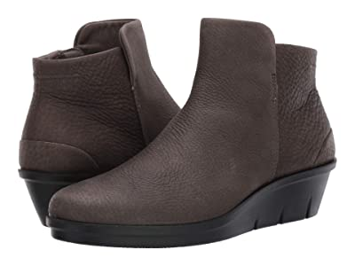 ECCO Skyler Wedge Bootie (Warm Grey) Women