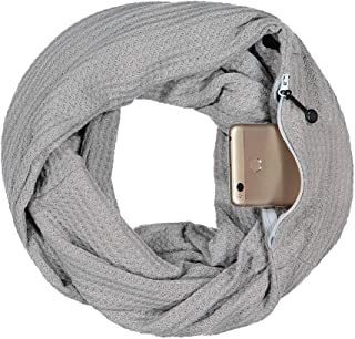 RkYAO Womens Knit Double-Layer 2 Circles Soft Fall Winter Infinity Loop Scarf