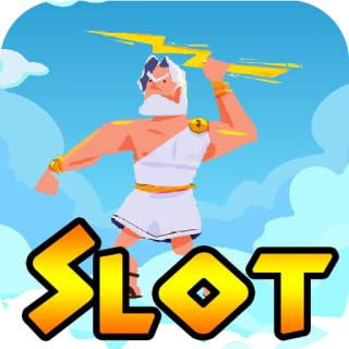 Thunder Lightning King of Greek God Lucky Jackpot Casino Slot Poker Machine - Free Slots Machine