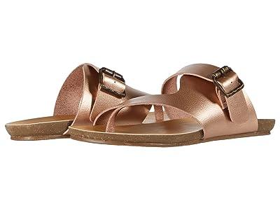 Blowfish Kids Giace-K (Little Kid/Big Kid) (Pearl Rose Gold Dyecut PU) Girls Shoes