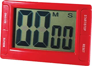 Ashley Analog Timer Big Red Digital Timer, 1/EA (10207), 3.75' x 2.5